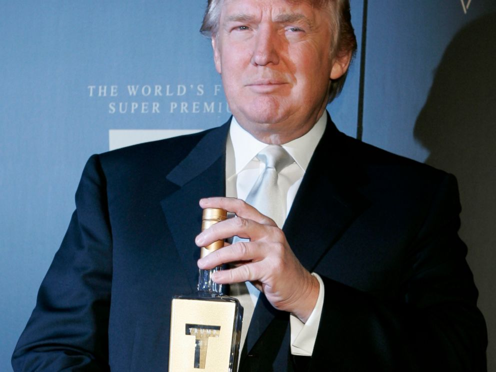 trump vodka teetotaller