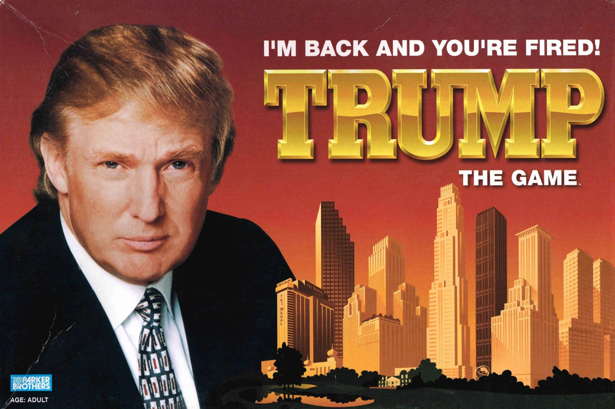 donald trump the board game