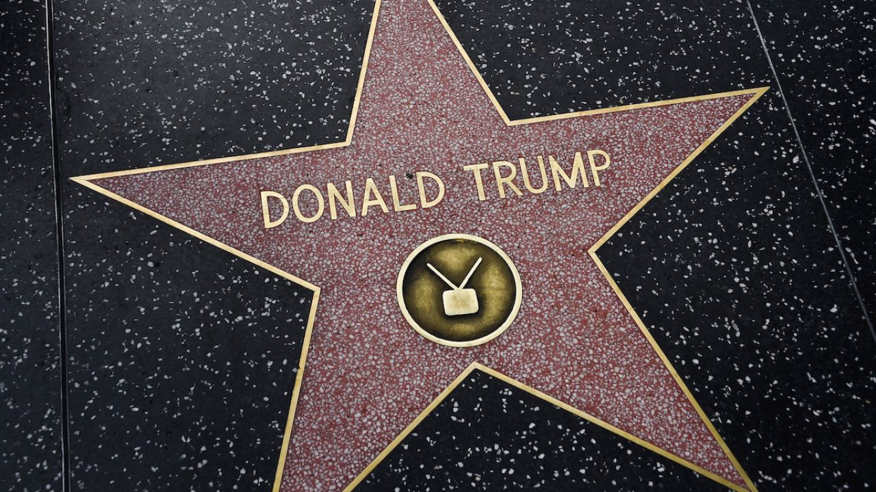 donald trump walk of fame simonmanuel