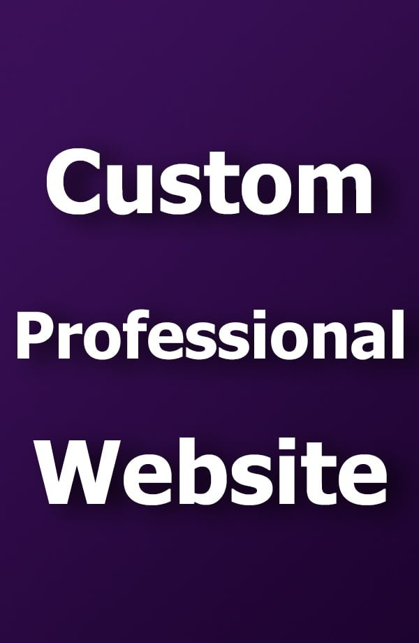 custom web site design