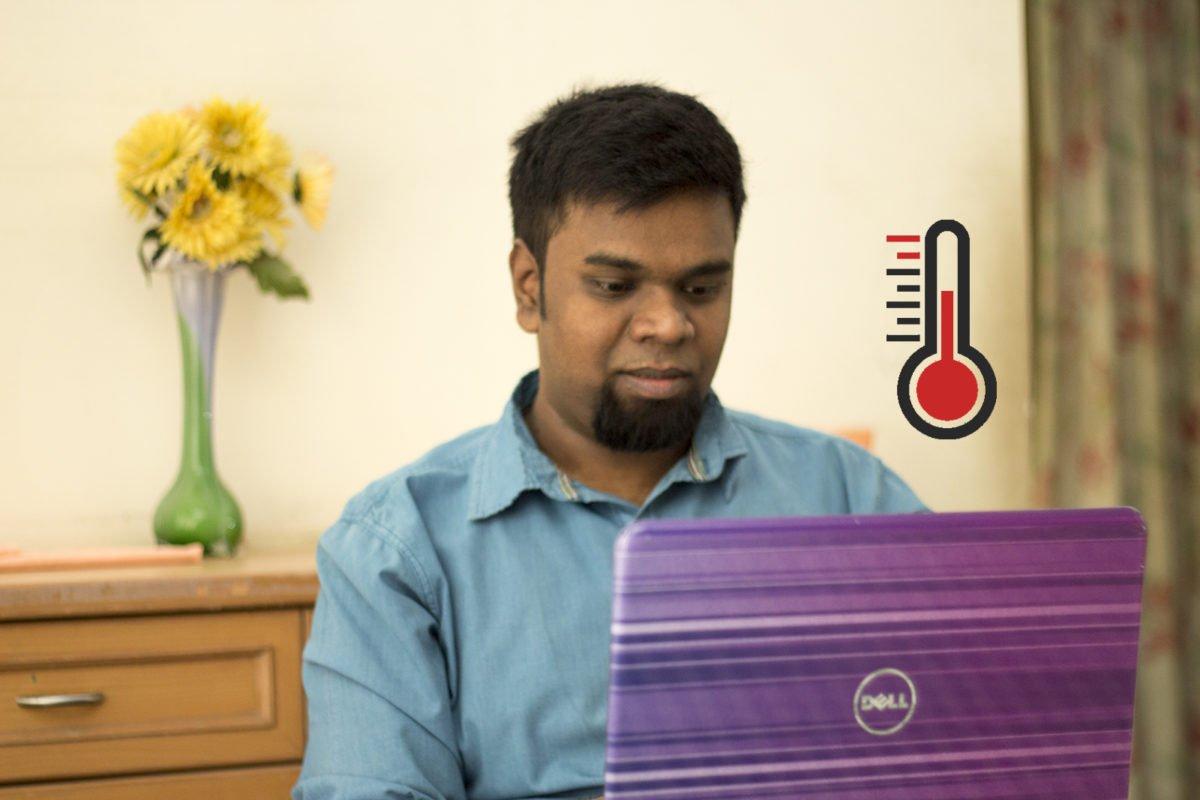 running your laptop cooler